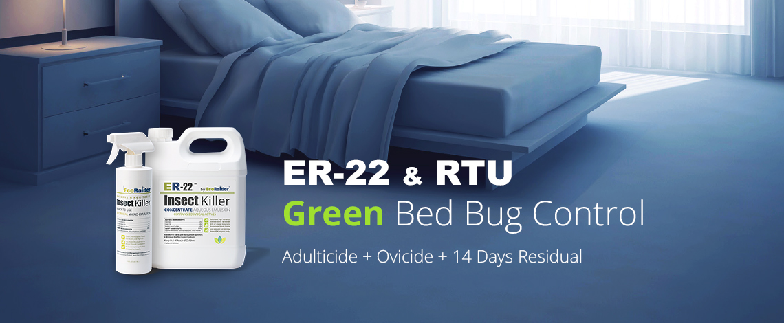 EcoRaider for Bed Bug control